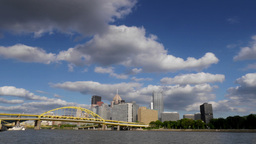 Pittsburgh Time Lapse Stock Video Footage