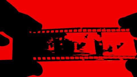 Old Film Stock Video Footage