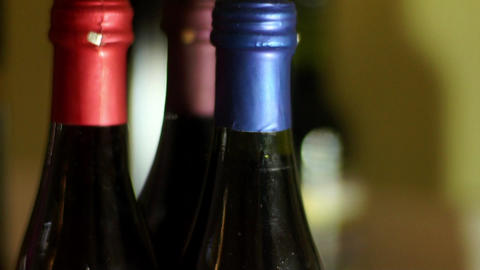 Wine Dizziness stock footage