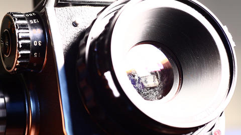 Camera Lens Stock Video Footage