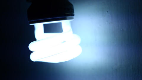 Cfl bulb Stock Video Footage