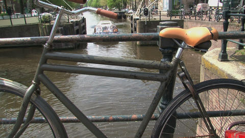Bike Amsterdam Canal Cruise Footage