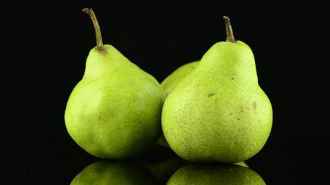 Three pears Stock Video Footage