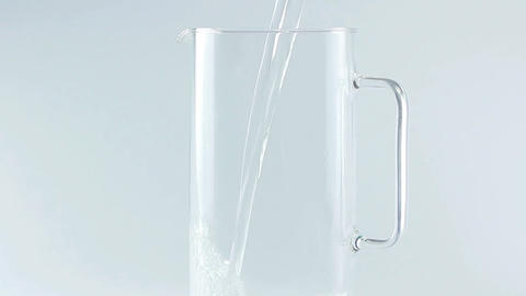Pouring water Stock Video Footage