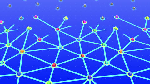 Social Network Connection E 5w 5 HD stock footage