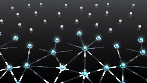 Social Network Connection F 3b 6 HD Stock Video Footage