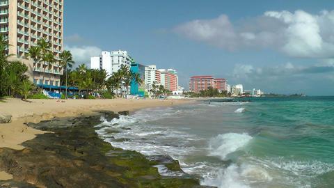 Condado Beach Footage