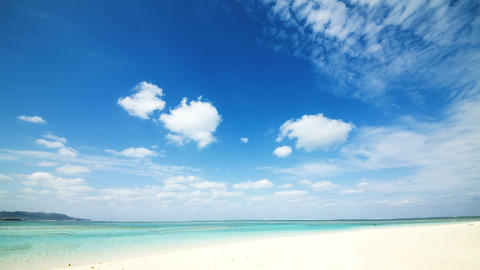tropical seascape Stock Video Footage