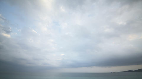 timelapse of cloudscape Stock Video Footage