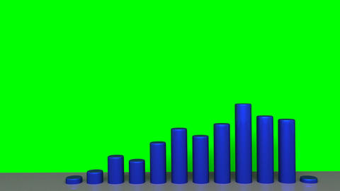 Chart - Animation - Blue Animation