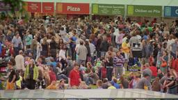 Arts Festival People Stock Video Footage