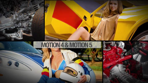 slideshow 035 Apple Motion Template