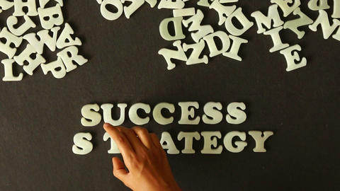 Success Strategy Stock Video Footage