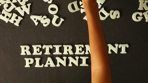 Retirement Planning Stock Video Footage