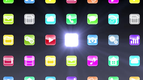 Smart Phone apps G Bb 1 HD Stock Video Footage