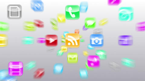 Smart Phone apps G Cw 1 HD Stock Video Footage