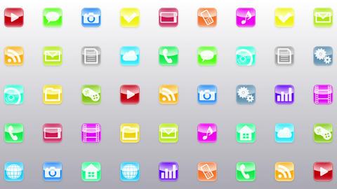 Smart Phone apps G Ew 1 HD Stock Video Footage