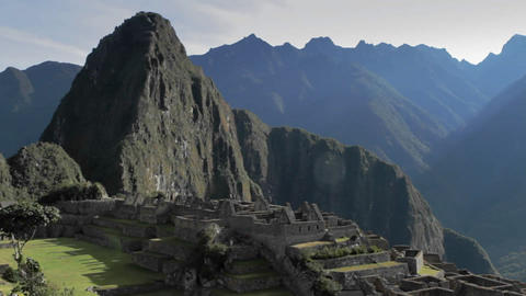 Classic Machu Picchu Stock Video Footage