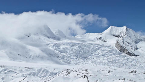 Mountains around Cho Oyu Footage
