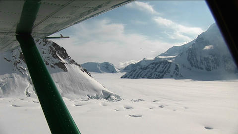 Lift-off from glacier Footage