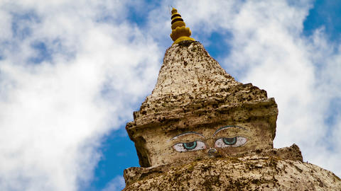 Stupa Temple Stock Video Footage