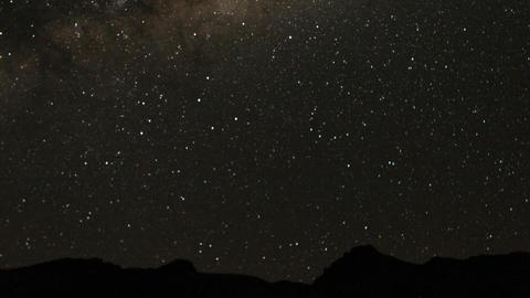 Stars over Chillka Stock Video Footage