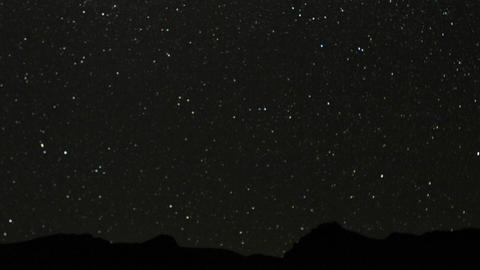 Stars Over Chillka stock footage