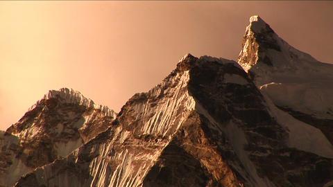 Himalayan peaks Stock Video Footage