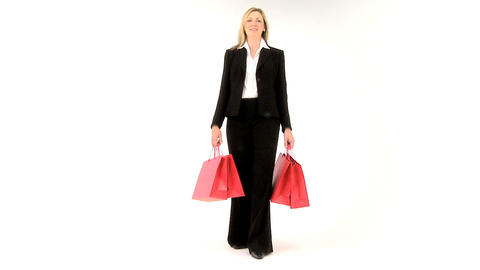 Joy of Shopping Stock Video Footage