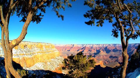 Panoramic views of Grand Canyon,Arizona Footage
