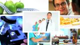 Montage  Of Medical & Healthcare Scenes/images stock footage
