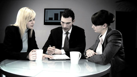 Collection of commercial business scenes/images Stock Video Footage