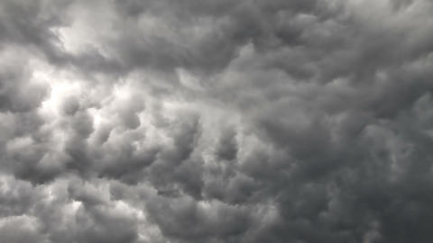 Stormy Sky Time Lapse stock footage