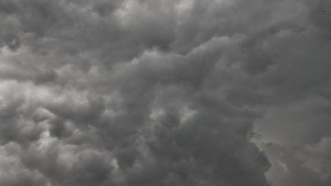 Stormy sky time lapse Stock Video Footage