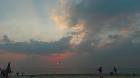 Golden sunset Stock Video Footage