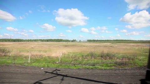 Along the road Stock Video Footage