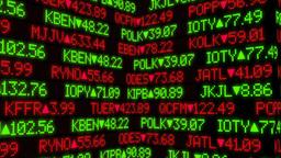 Stock Market Ticker Animation