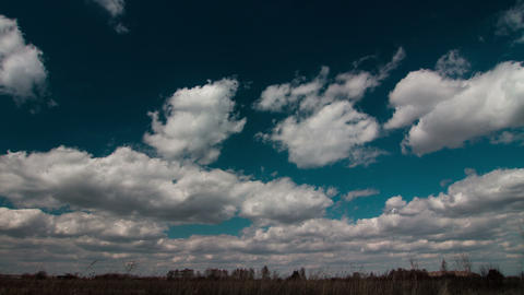 Timelapse Clouds Footage