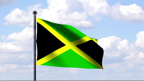 Animated Flag of Jamaica / Jamaika Animation