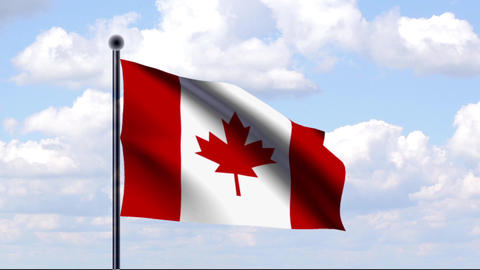 Animated Flag of Canada / Kanada Animation