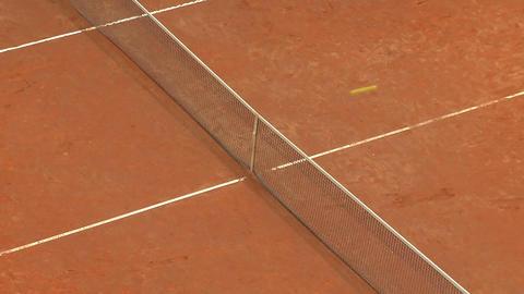 tennis ball 02 Stock Video Footage