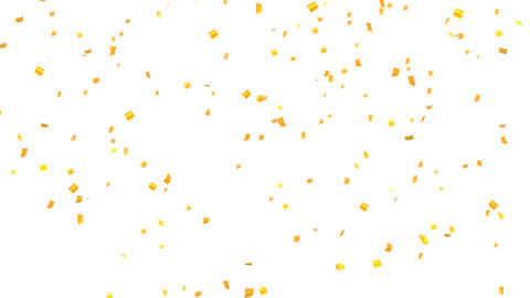 confetti 002 gold Animation