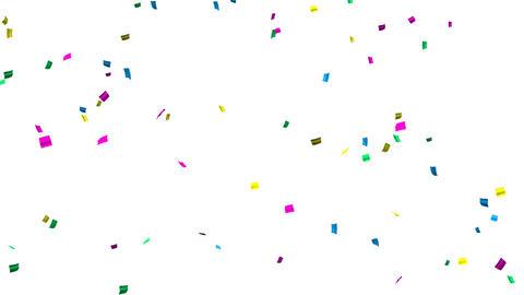 confetti 004 colorful2 Stock Video Footage