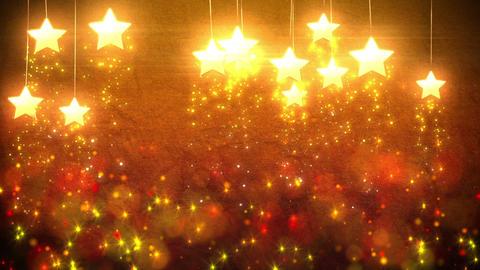 Stars decorations loop Animation