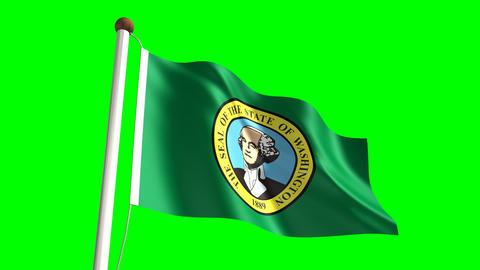 Washington flag Animation