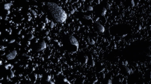Asteroid Field 2 Stock Video Footage