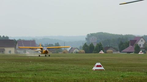 Sport plane Footage