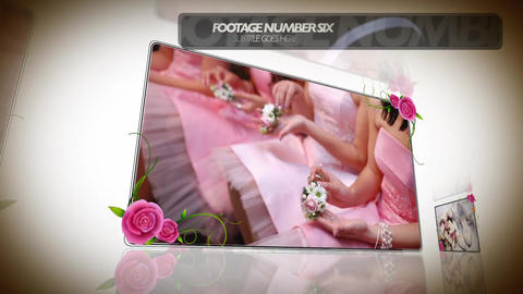 wedding 041 Apple Motion Template
