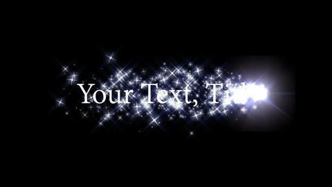 text particle 001 Animation