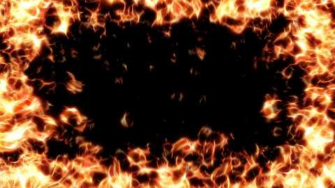 fire frame HD Animation